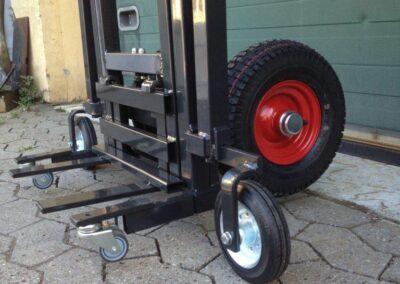 Spangkilde radiatorvogn_hjul