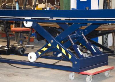 chassis til arbejdsbord