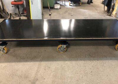 Flytbart Spangkilde arbejdsbord med lav højde